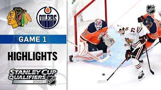 Chicago Blackhawks vs Edmonton Oilers | Aug.01, 2020 | Play out Game 1 | NHL 2019/20 | Обзор матча