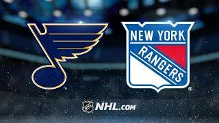 St. Louis Blues vs New York Rangers  Mar.03, 2020  Game Highlights  NHL 201920  Обзор матча
