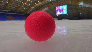 Космический хоккей… — ВИДЕОСЮЖЕТ «Альтаира»