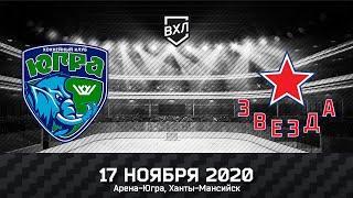 Видеообзор матча ВХЛ Югра - Звезда (4:3)