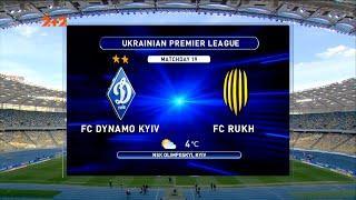 УПЛ | Чемпионат Украины по футболу 2021 | Динамо - Рух - 3:0. Обзор матча