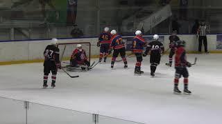 Ночная хоккейная лига. Сезон 2018/2019. Видеообзор матчей 13-го тура в дивизионе «18+»