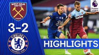 West Ham 3-2 Chelsea   Premier League Highlights