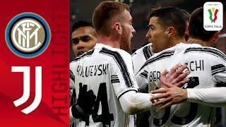 Inter 1-2 Juventus | CR7 scores brace as Juve take aggregate lead over Inter | Coppa Italia 2020/21