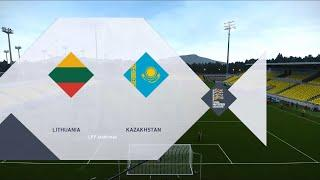 Lithuania vs Kazakhstan | 2020-21 UEFA Nations League | PES 2020
