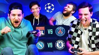 FIFA БЕЗ ПРАВИЛ! ПСЖ - Лион, Наполи - Челси | 1/4 финала Лиги Чемпионов