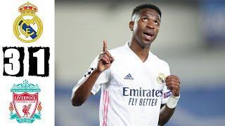 Реал Мадрид 3-1 Ливерпуль Обзор матча 1/4 финала Лиги чемпионов 2021