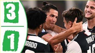 Лучшие моменты матча Ювентус - Дженоа | обзор матча