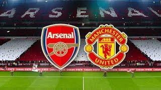 Арсенал - Манчестер Юнайтед обзор матча команд АПЛ футбол PES 2020