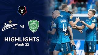Highlights Zenit vs Akhmat (4-0) | RPL 2020/21