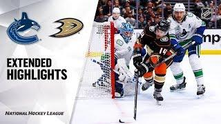 Vancouver Canucks vs Anaheim Ducks | Nov.01, 2019 | Game Highlights | NHL 2019/20 | Обзор матча