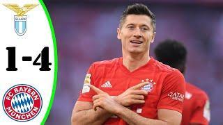 ???? Бавария - Лацио 4-1 - Обзор Матча 1/8 Финала Лиги Чемпионов 23/02/2021 HD ????