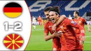 Германия - Северная Македония 1:2 Обзор Матча