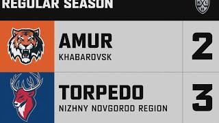 Амур - Торпедо НН 2:3 Б | КХЛ - регулярный чемпионат | 4 октября 2020 | Обзор матча