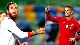 Роналду и Рамос НЕ ОБЩАЛИСЬ 2 ГОДА, и вот ПОЧЕМУ! Португалия - Испания. Лучшие футбольные видео