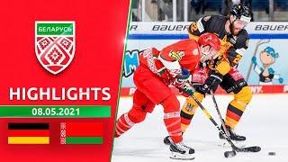 Германия – Беларусь – 2:0   08.05.2021