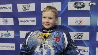 Александр Сиваков, вратарь команды «Динамо-11Б», рассказал о матче против «СКА-Серебряные Львы»