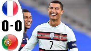 Франция Португалия 0-0 Обзор Матча Футбол 2020 г.