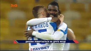 Динамо — Колос — 2:0. Відео-огляд матчу