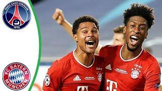 ПСЖ - Бавария. Лига Чемпионов Финал 23.08.20 | Обзор FIFA-Ванга