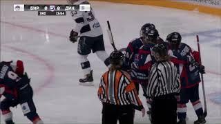 Бирюса-Динамо СПб. 11.10.2018. Видеообзор матча.