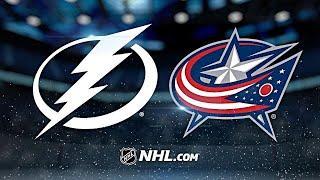 Тампа Бэй - Коламбус 2.04.21 НХЛ НА РУССКОМ | ОБЗОР МАТЧА