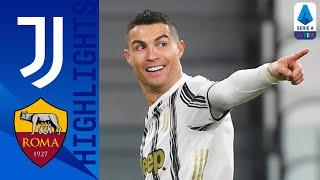 Juventus 2-0 Roma   CR7 Scores To Close The Gap At The Top   Serie A TIM