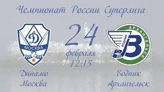 Динамо (Москва) - Водник (Архангельск) | 24.02.19