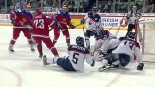 Видеообзор матча Россия-Словакия