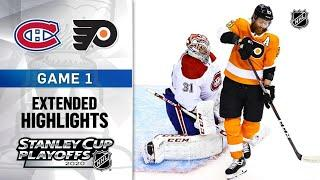 Montreal Canadiens vs Philadelphia Flyers R1, Gm1 Aug 12, 2020 HIGHLIGHTS HD