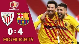 Атлетик Бильбао - Барселона 0-4 | Обзор матча | Кубок Испании Финал 2021
