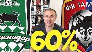 Краснодар Тамбов Прогноз / Прогнозы на Спорт / ИДУ НА МАТЧ!!!
