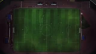 Футбол. Неман - Динамо. Видео с дрона