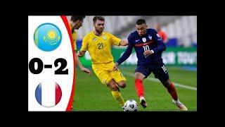 Казахстан Франция обзор матча HD отбор ЧМ 2022