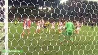 Футбол | Видео обзор чемпионата Англии | матч 15 тура | Стоук Сити - Арсенал 3-2