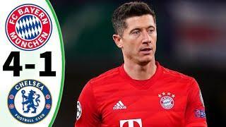 Лучшие моменты матча Бавария - Челси   обзор матча