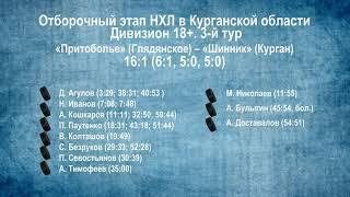 Сезон 2019/2020 гг. Видеообзор матчей 3-го тура в дивизионе 18+