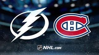 Tampa Bay Lightning vs Montreal Canadiens | Jan.02, 2020 | Game Highlights | NHL 2019/20 | Обзор