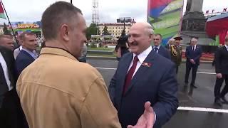 Случайная встреча журналиста Максима Шевченко и Президента Беларуси Александра Лукашенко