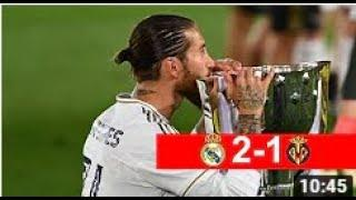 Реал Мадрид — Вильярреал 2:1. Обзор матча 16.07.2020 / Реал Чемпион Испании 2019/20
