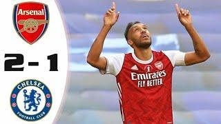 Лучшие моменты матча Арсенал - Челси 2-1 Обзор матча Финал кубка Англии 01.08.2020