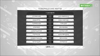 Обзор товарищеских матчей 07.10.2020
