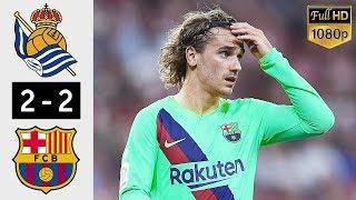 14.12.19 Реал Сосьедад - Барселона - 2:2. Обзор матча
