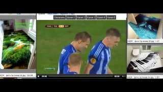 Динамо Киев - Риу Аве 3:0 Все голы. Видео обзор футбол 2014