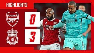 HIGHLIGHTS | Arsenal vs Liverpool (0-3) | Premier League