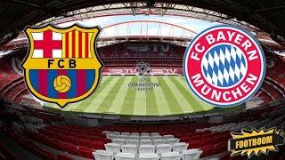 Барселона-Бавария!1/4 Лиги Чемпионов!Обзор матча 14.08.20.Прогноз