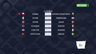 Лига наций. Обзор матчей 14.10.2020