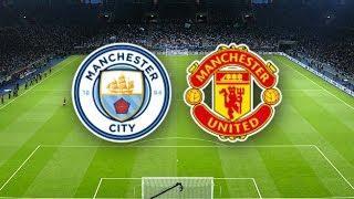 Манчестер Сити - Манчестер Юнайтед обзор матча команд АПЛ футбол PES 2020