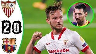 Севилья - Барселона  обзор матча .Кубок Испании HD 10.02.2021