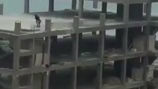 Хоккей на стройке